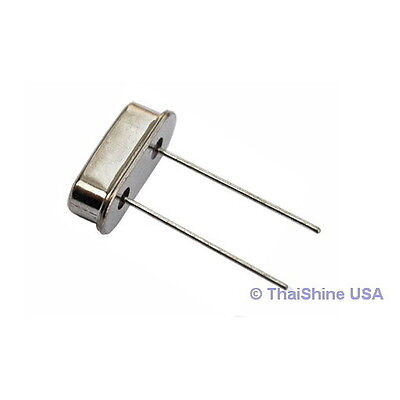 10 x 5.000 MHz 5 MHz Crystal HC-49/S Low Profile - USA Seller - Free Shipping