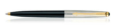 Parker Galaxy (Jotter, Classic) GT Ball Pen BLACK Body - Quink Blue Ink - New