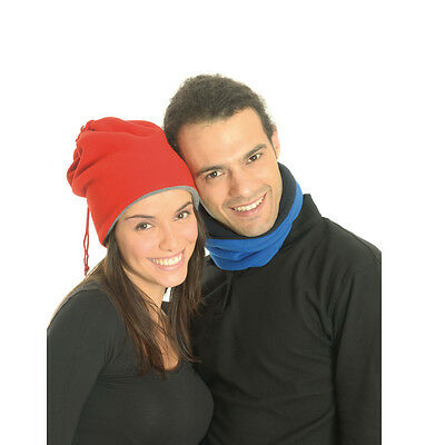 Scalda Collo In Caldissimo Pile Double Face Trasformabile In Cappello