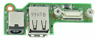 Dell Inspiron 1525 1526 Dc Input Socket Power Jack Usb Board D/pn 48.4W032