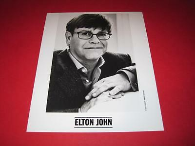 ELTON JOHN original 10x8 inch promo press photo photograph 1231-29