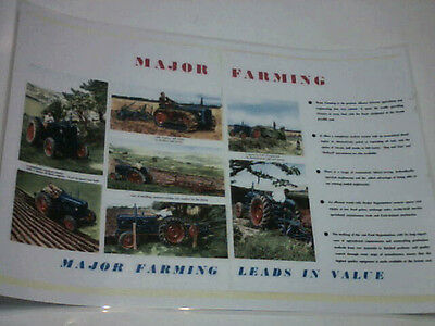 Major Farming Leads in Value colour poster