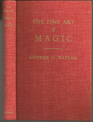 The Fine Art of Magic by George G. Kaplan 1948