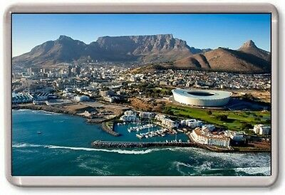 FRIDGE MAGNET - CAPE TOWN - Large - South Africa Aerial