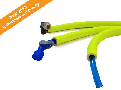 Yellow Insulate Hydration Pack Drink Tube Hose Cover  Camelbak insulation sleeve