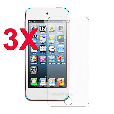 3 x Clear LCD Screen Protector Film for Apple iPod Touch 5 5th 6 6th GEN 5G