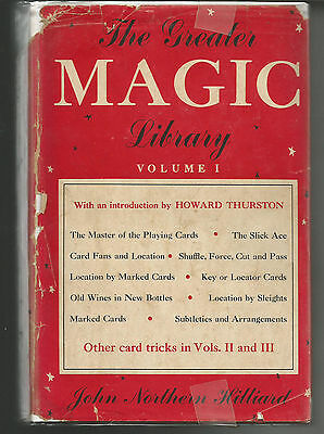 The Greater Magic Library 1956 Volume 1 & 2 by John Northern Hilliard