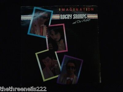 """VINYL 7"""" SINGLE - IMAGINATION - ROCKY SHARPE AND THE REPLAYS - CHIS110"""