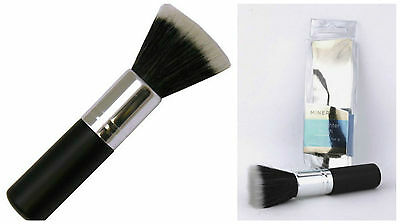Paris Presents Dual Fibers Mineral Highlighter Brush Make Up 12cm New Boxed