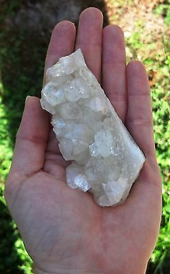 Apophyllite Crystal Cluster Specimen -X- Stone of Healing Power
