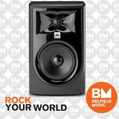 "JBL LSR305 MKII Powered Active Studio Monitor Speaker 5 Inch LSR-305 5"" - BM"