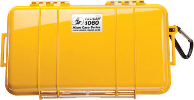 engraved nameplate Pelican ™ 1050 Solid Yellow Micro Case includes PNP foam