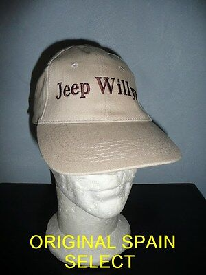 Casquette JEEP WILLYS beige ( FORD MB MA GPA SAS 4X4 M201 WW2 USA NORMANDIE