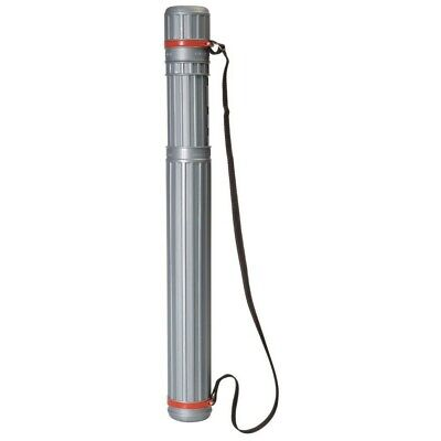 Mont Marte Drafting Tube 63 - 100cm BLACK / SILVER