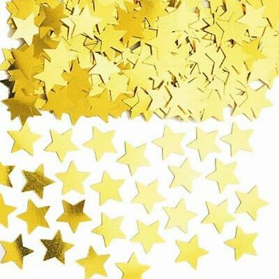 Stardust Gold Stars Table Confetti Sprinkles 14g x 3