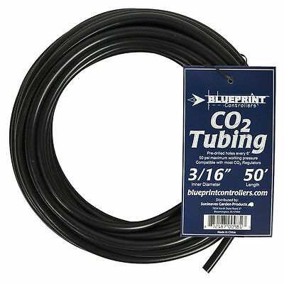 "Blueprint CO2 Tubing 3/16"", 50 feet w/ Pre-drilled Holes for Co2 Release"