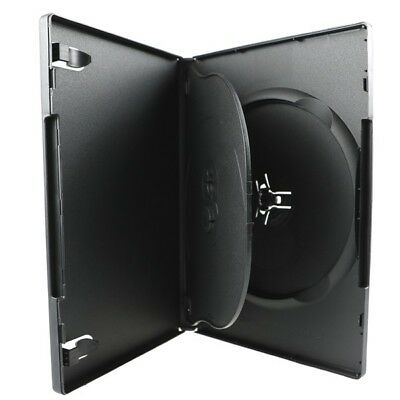NEW! 1 Premium 3-Disc DVD Case Triple 14mm Black - 100% New Material