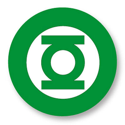 "Pin Button Badge Ø25mm 1"" Green Lantern Marvel DC Comics Super Heros"