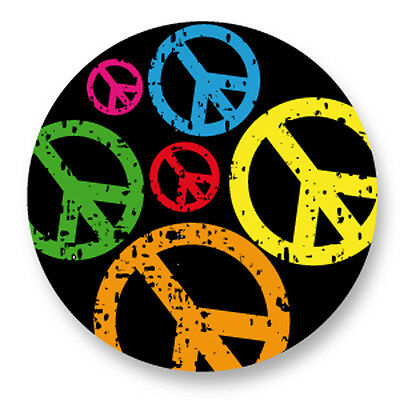 "Pin Button Badge Ø25mm 1"" Peace and Love Paix Amour Paz Frieden Pace"