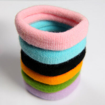 Snagless Hair Ties/ Hair Band / Elastic Hair Tie /Ponytailer holders 15mm School
