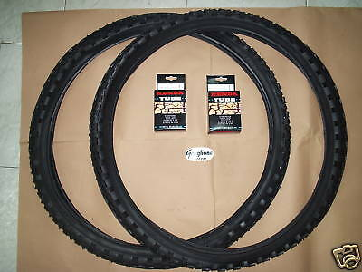 OFFERTISSIMA DUE COPERTONI + DUE CAMERE PER BICI 26 MTB 26X1.95 MOUNTAIN BIKE