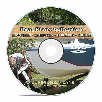 Cool Boat Plans, Canoe, Inboards, Outboards, Rowboats, Sailboats, Fishing Boats