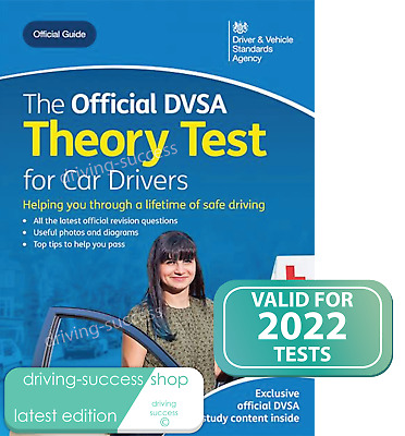 Official DVSA Driving Theory Test Book 2016 for Car Drivers