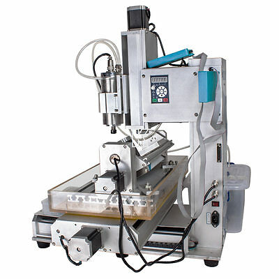 HY3040 CNC Router Column 5 Axis Engraving Machine Ball Screw 1500W Spindle Motor