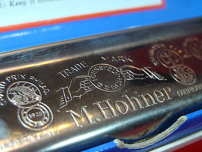 VINTAGE HARMONICA MARINE BAND MADE BY HOHNER GERMANY No. 365 w. original box