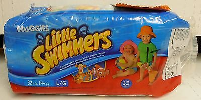 Huggies Little Swimmers, Bag of 10, Large (Pooh/Nemo) BRAND NEW FACTORY SEALED
