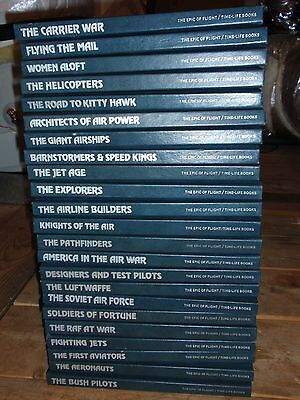 """""""The Epic of Flight""""-23 book set GREAT CONDITION"""