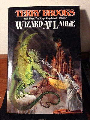 Wizard at Large Bk. 3 by Terry Brooks (1988, Hardcover) I7