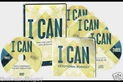 "Joel Osteen  ""I CAN""- 3 CDs & 1 DVD: &  31-Day Devotional Booklet!"