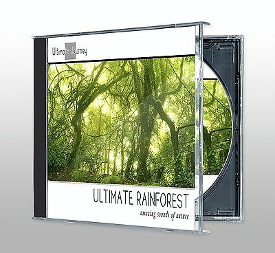 Ultimate Rainforest CD (Birds, Relaxation, Animals, Nature Sounds, Calming)