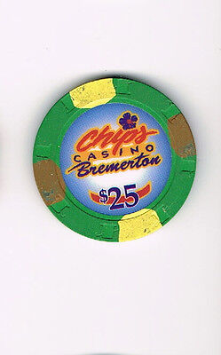 Chips Casino Bremerton $25 Casino Chip