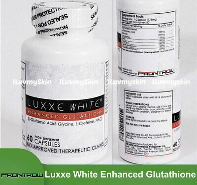 Luxxe White Enhanced Glutathione   (100% Authentic)