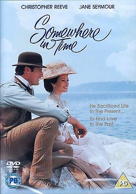 Somewhere in Time DVD Region 2 - UK ONLY Christopher Reeve - Jane Seymour NEW!