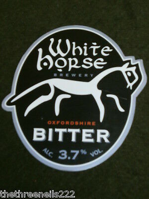 Beer Pump Clip - White Horse Bitter