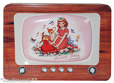 Cotton Candy Blechdose vintage TV Dose Keksdose Lunchbox cookie tin