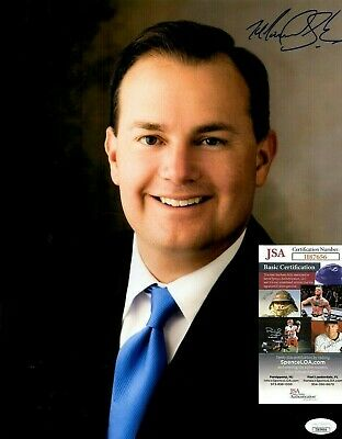 US Senator Mike Lee In-Person Signed 11x14 Photo with Exact PROOF &COA Tea Party