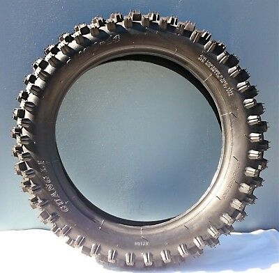 21 inch knobby front tyre with tube, 80/100-21, dirt bike, pit bike, CRF 21""