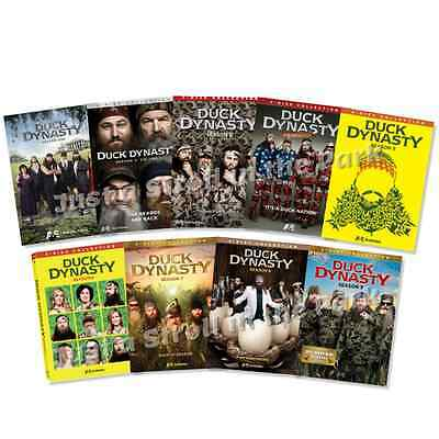 Duck Dynasty TV Series Complete Seasons 1 2 3 4 5 6 7 8 9 Box / DVD Set(s) NEW!
