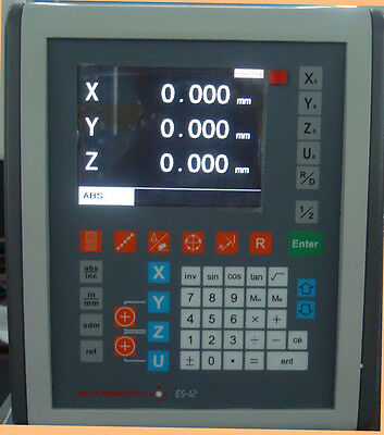 2-axis EASSON ES-12 Graphic digital readout with 2 SINPO JCXE scales
