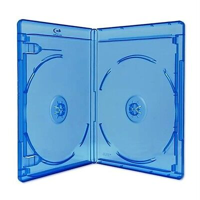 NEW! 5 Premium VIVA ELITE Double Disc Blu-ray Cases - Holds 2 Discs