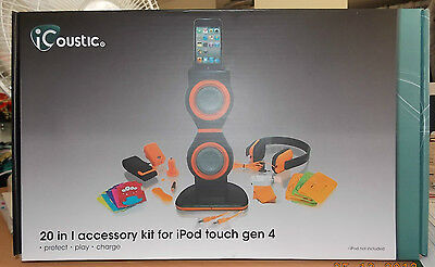 iCoustic 20 in 1 accessory kit for iPod touch gen 4. originally $179. Now $60 !