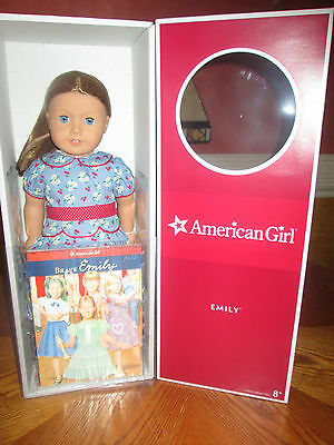 American Girl Doll Emily With Paperback Book New In Box Retired