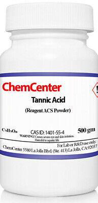 Tannic Acid, Reagent ACS, High Purity, 500 gms