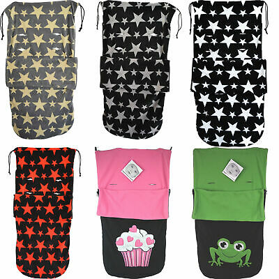 SNUGGLE  BUGGY FOOTMUFF COMPATIBLE WITH BUGGY PUSCHAIR BABY 10x DESIGNS