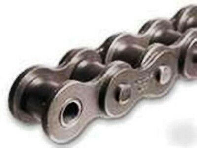 """#100-1R X 10FT Riveted Roller Chain With 1 Connecting Link (#100) 1 1/4"""" PITCH"""