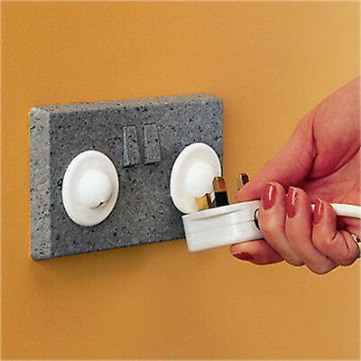 New Clippasafe Uk Plug Socket Covers Electrical Baby Child Safety Protector